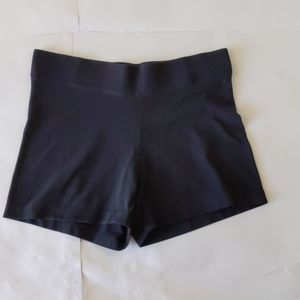 Danskin Yoga Shorts Black Size MED